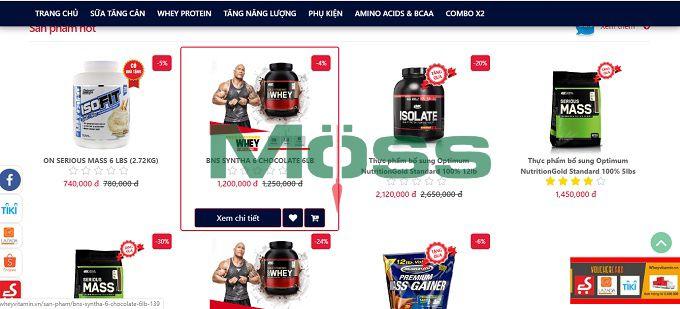 Moss Pharma giúp bán hàng linh hoạt qua các kênh thương mại điện tử