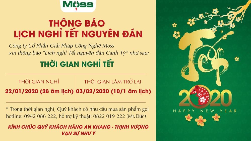 Thông báo lịch nghỉ lễ Tết Nguyên Đán