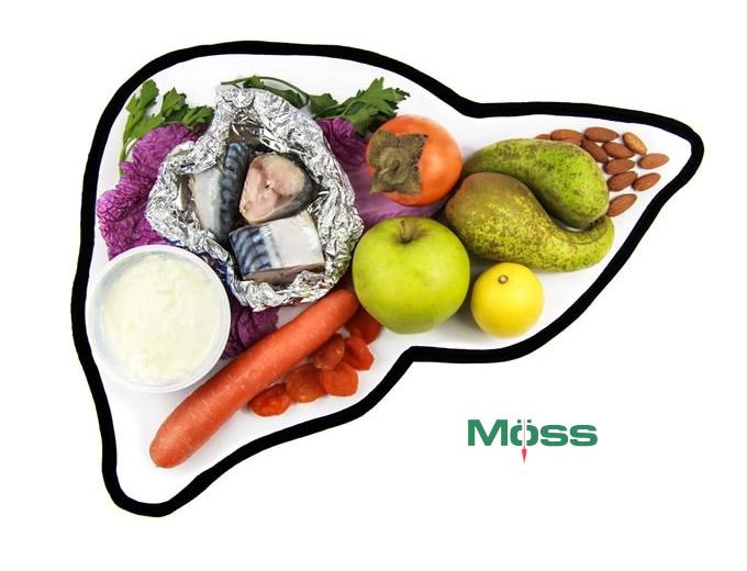 Chế độ ăn nhiều rau củ có lợi cho gan