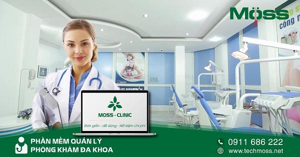Moss Clinic giúp quản lý hồ sơ bệnh nhân