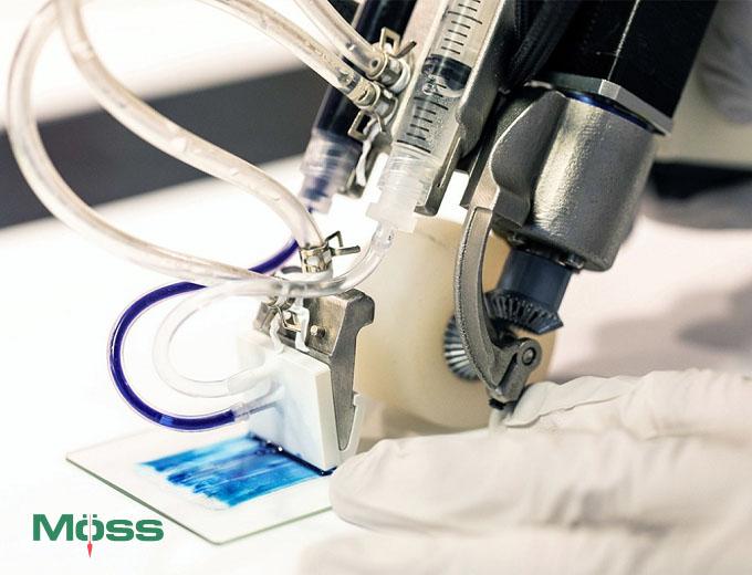 Máy in da và mực in 3D đặc biệt cho y khoa