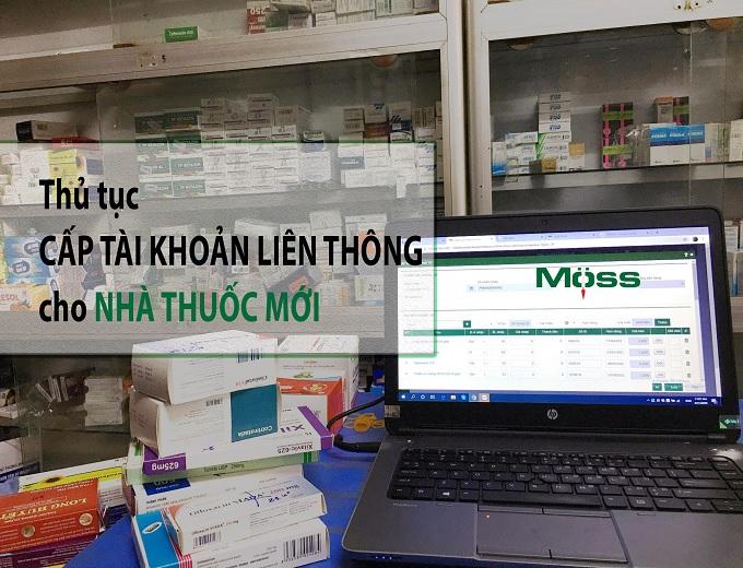 Việc đăng ký cấp tài khoản sẽ do Tech Moss làm giúp bạn