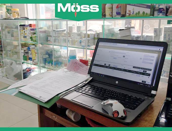 Quản lý chuỗi nhà thuốc với phần mềm Moss Pharma