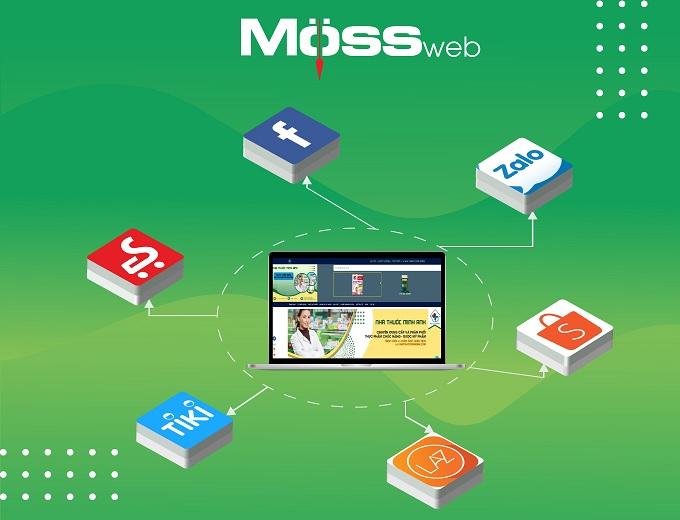 Gói thiết kế web Moss mang tính năng ưu việt