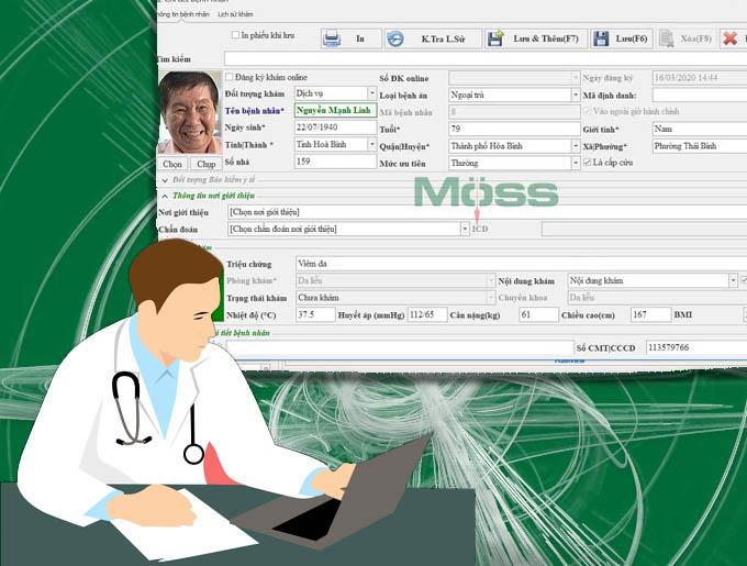 Quản lý hồ sơ bệnh nhân thông minh với phần mềm phòng khám