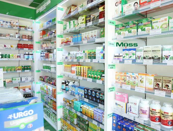 Vị trí sắp xếp thuốc cần có ngụ ý