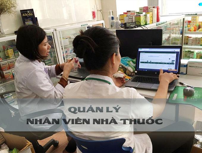 Quản lý nhân viên nhà thuốc bằng phần mềm