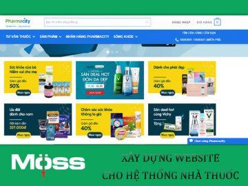 website-cho-he-thong-chuoi-nha-thuoc-tech-moss