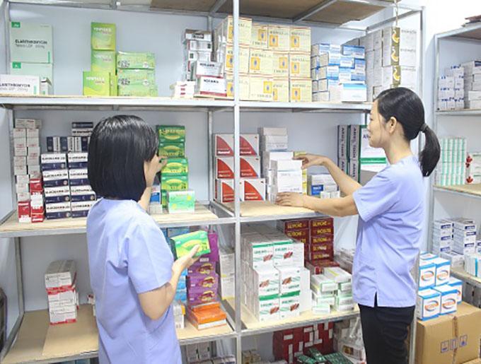 Phân chia các tên thuốc có tên gọi giống nhau trong tính năng tủ thuốc