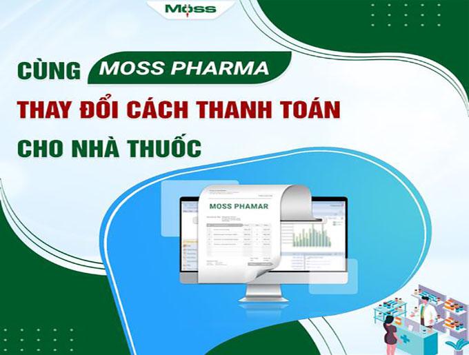 Thay đổi thay cách thanh toán bằng phần mềm nhà thuốc Moss Pharma